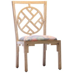 Asian Modern Side Chair from Viceroy Miami '4 Available'