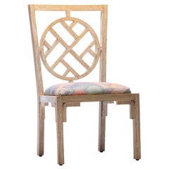 Asian Modern Side Chair from Viceroy Miami Designed by Kelly Wearstler (4 Avail)