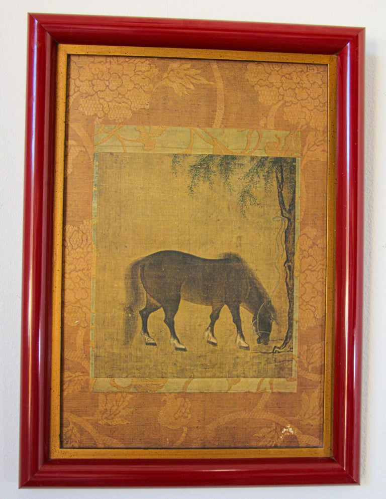 Agra Asian Mughal Style Miniature Print For Sale