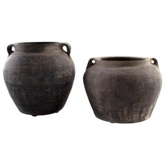 Asian Small Ceramic Pot
