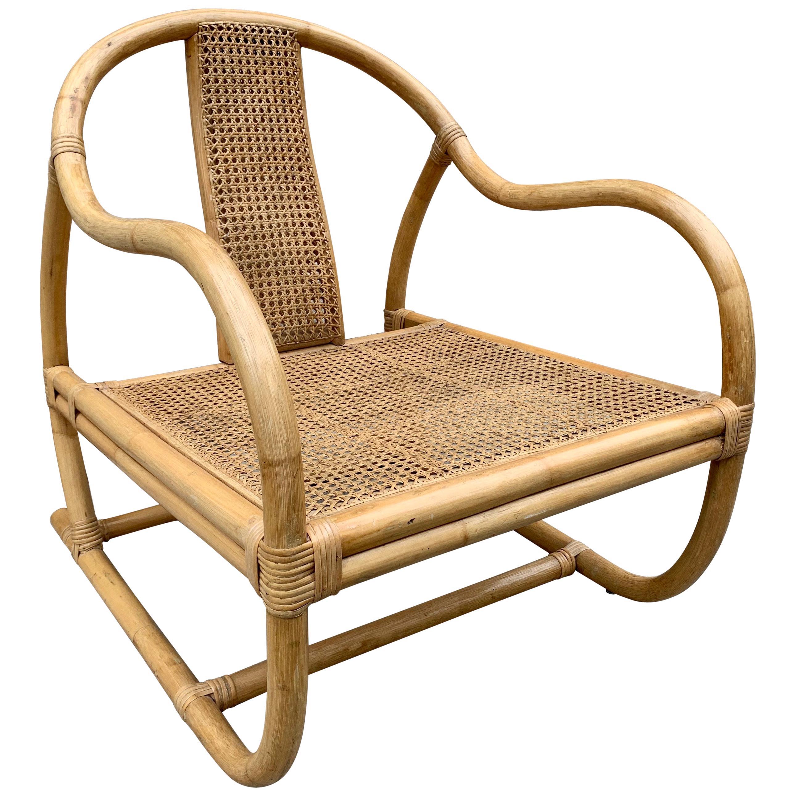 Asian Style Italian Bamboo Chair