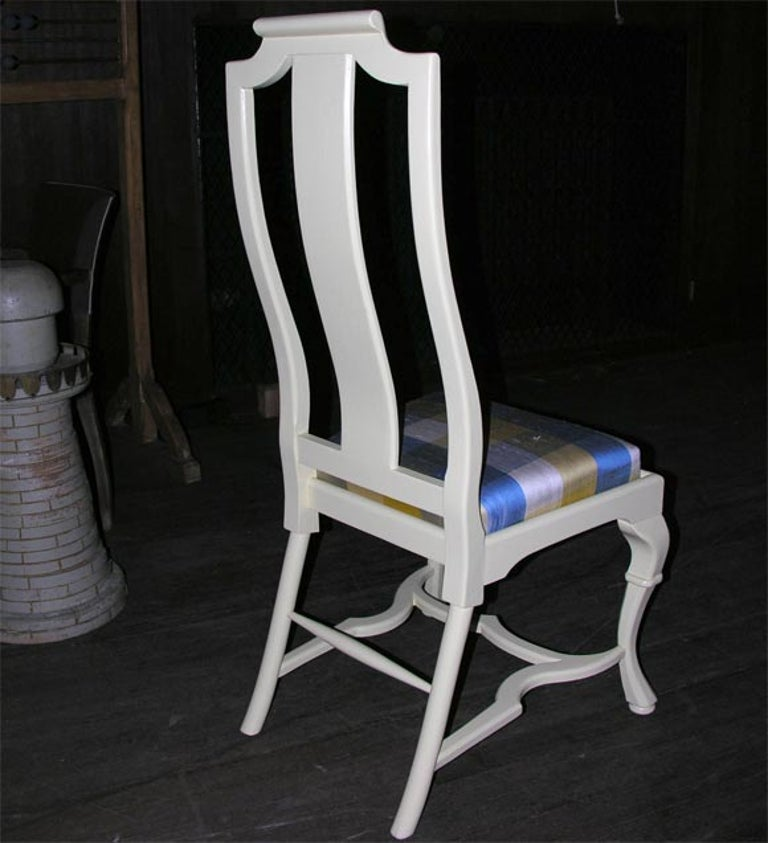 Mid-20th Century Asian Style Queen Anne Side Chair For Sale