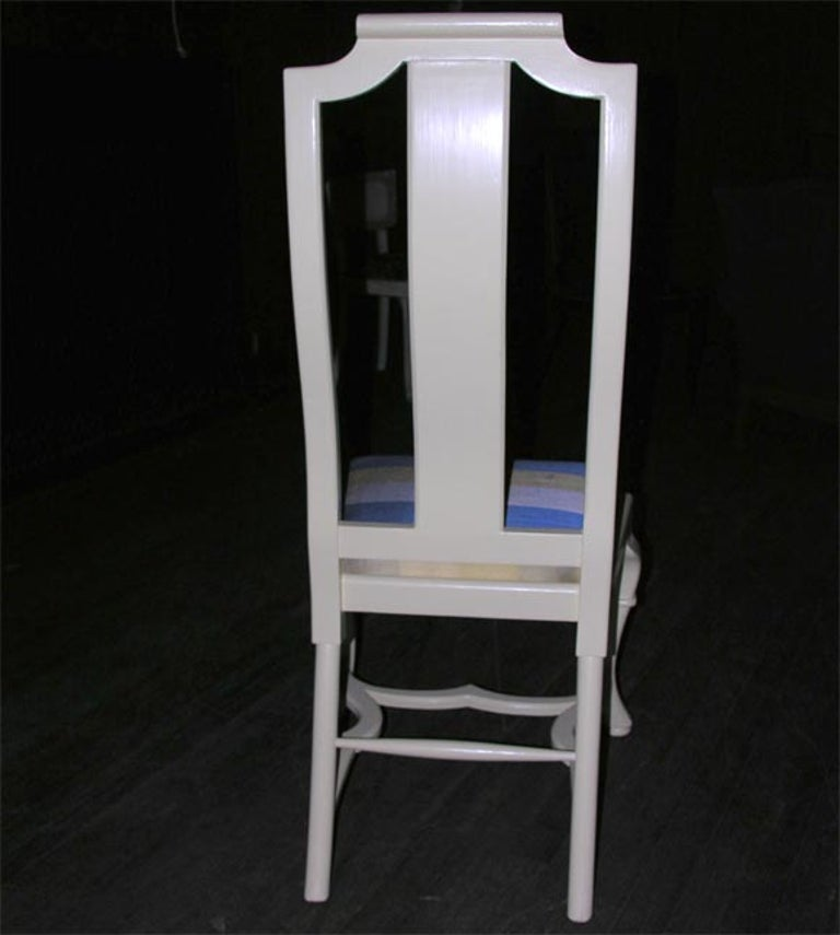 Asian Style Queen Anne Side Chair For Sale 1