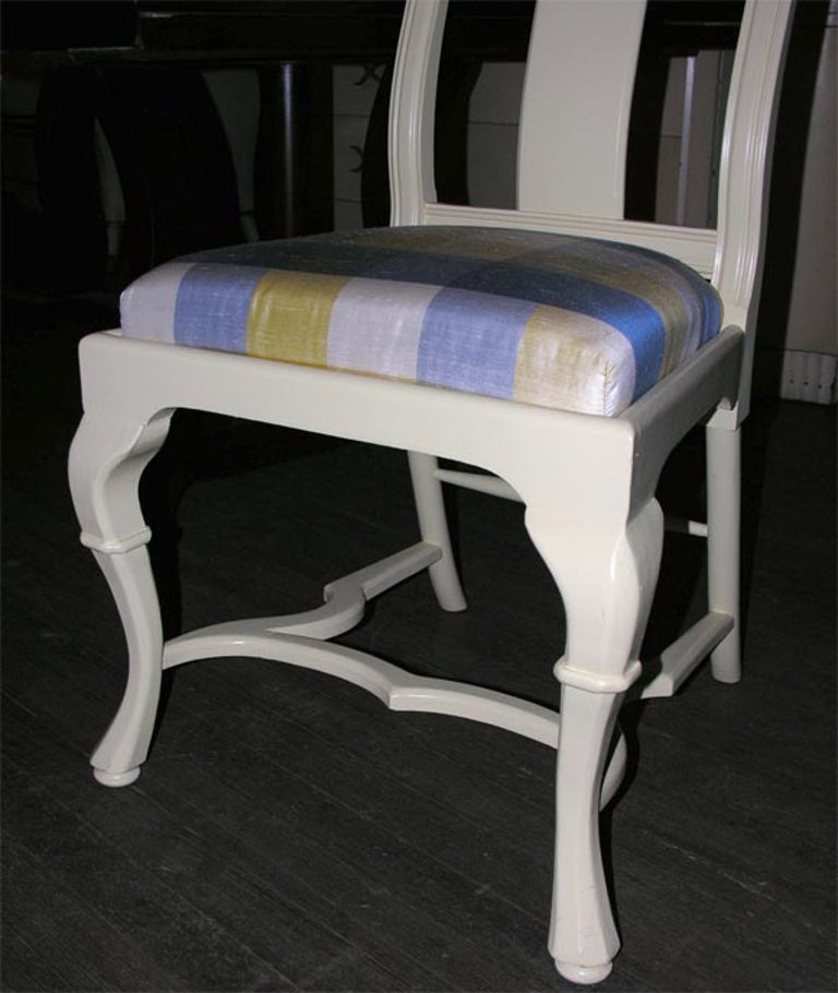 Asian Style Queen Anne Side Chair For Sale 2