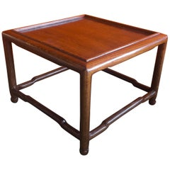 Asian Style Small Wooden Pedestal / Plant Stand