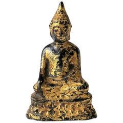 Asian Tibetan Gilt Bronze Buddha Sculpture
