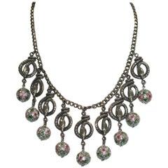 Askew London Snake Drop Necklace