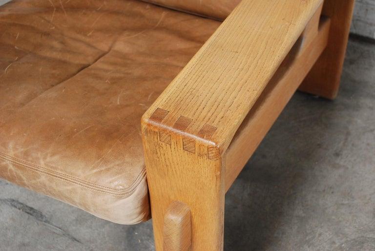 Asko Bonanza Armchair Brown Caramel Leather Chair Design Esko Pajamies 4