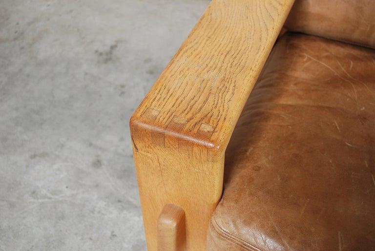 Asko Bonanza Armchair Brown Caramel Leather Chair Design Esko Pajamies 5
