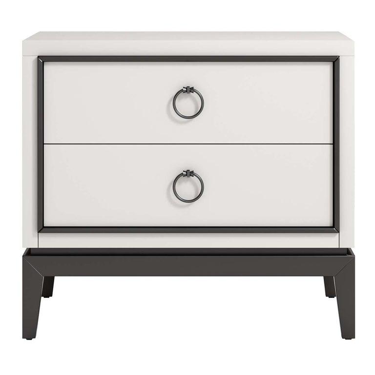 asmara white nightstand for sale at 1stdibs. Black Bedroom Furniture Sets. Home Design Ideas