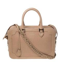 Aspinal Of London Beige Leather Sofia Shoulder Bag