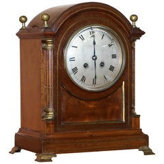 Asprey Bond Street Mantle Clock circa 1860 for Light Restoration Lovely Piece