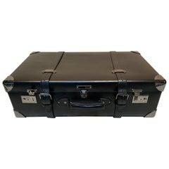 Asprey Londoner Trolley, Black Cross Hatch Suitcase