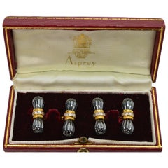 Asprey of London Cufflinks in Original Box
