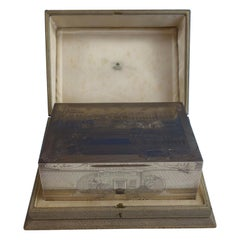 Asprey Sterling Silver Humidor Box Finely Engraved '#1569' Exceptional!