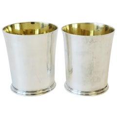 Asprey Sterling Silver Mint Julep Cup