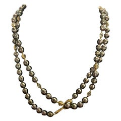 Assael Tahitian Pearls with Moonstone Accents