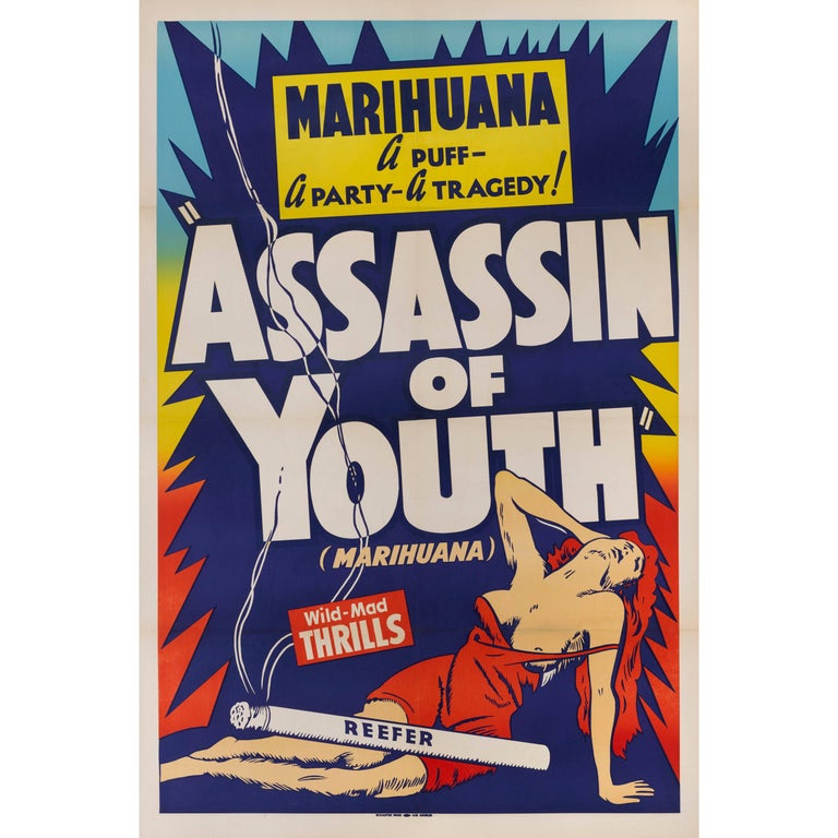 """""""Assassin of Youth"""" Original US Movie Poster"""