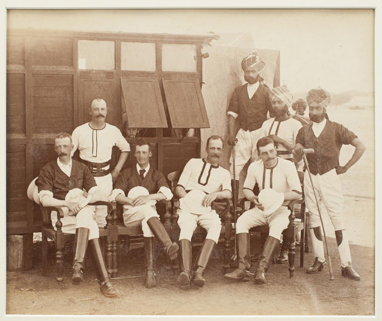 Assortment of Four Black & White Polo Photographs For Sale 4
