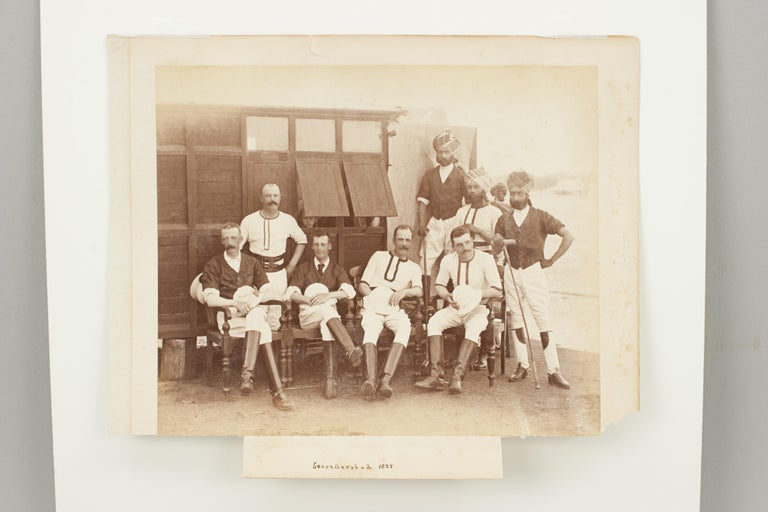 Assortment of Four Black & White Polo Photographs For Sale 5
