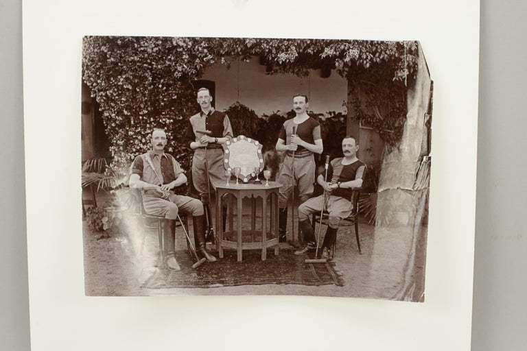 Assortment of Four Black & White Polo Photographs For Sale 6