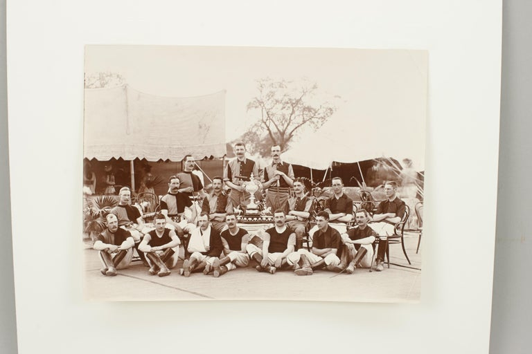 Assortment of Four Black & White Polo Photographs For Sale 8