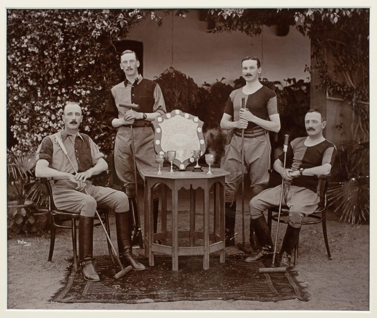 Assortment of Four Black & White Polo Photographs For Sale 3