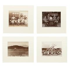 Assortment of Four Black & White Polo Photographs