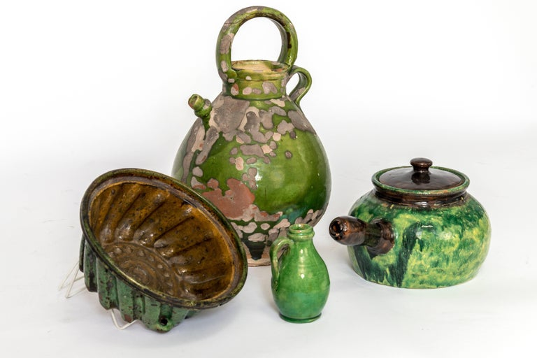 19th Century Assortment of Vintage French Crockery For Sale