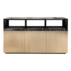 Asta Beige Sideboard with Marble Top