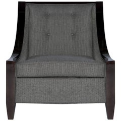 Astaire Lounge Chair II in Herringbone by Innova Luxuxy Group