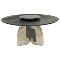 Aster Dining Table with Stone Top
