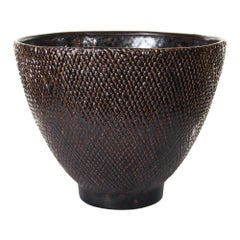 Aster Bowl in Black Ceramic by CuratedKravet