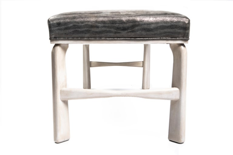 Leather Astin Bench For Sale