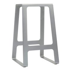A_Stool in Zinc-Plated Steel Counter Height Stool by Jonathan Nesci