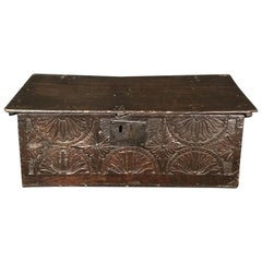 Astounding Ancient British 17th Century Bible Box