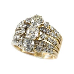 Astounding Victorian Diamond Ring with a Total Diamond Weight of 2.70 Carat