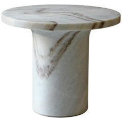 Astra Cocktail Table in Mist White Marble
