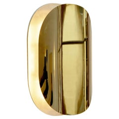 Astra Polished Brass Sconce Designed by Victoria Magniant