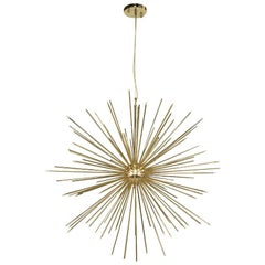 Astral Sunny Suspension in Glossy Brass Finish