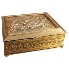 Astrian Gilt Bronze Table Box