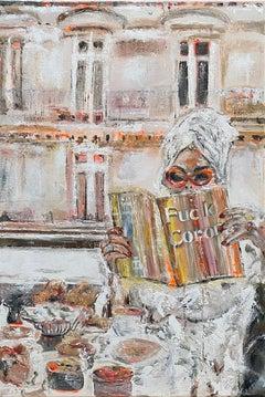 Bristol - Contemporary Art, Corona, modern, figurative, oil painting, magazine