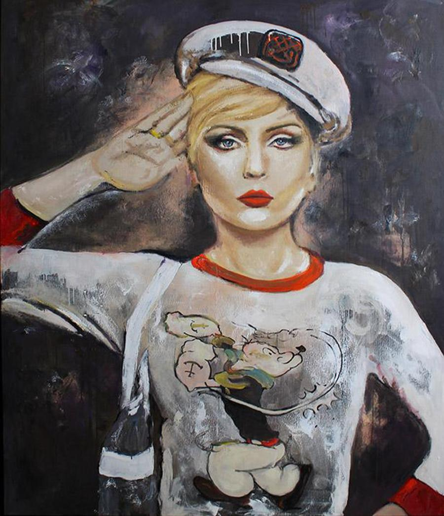 Sailor by Astrid Stöfhas - Contemporary pop art painting
