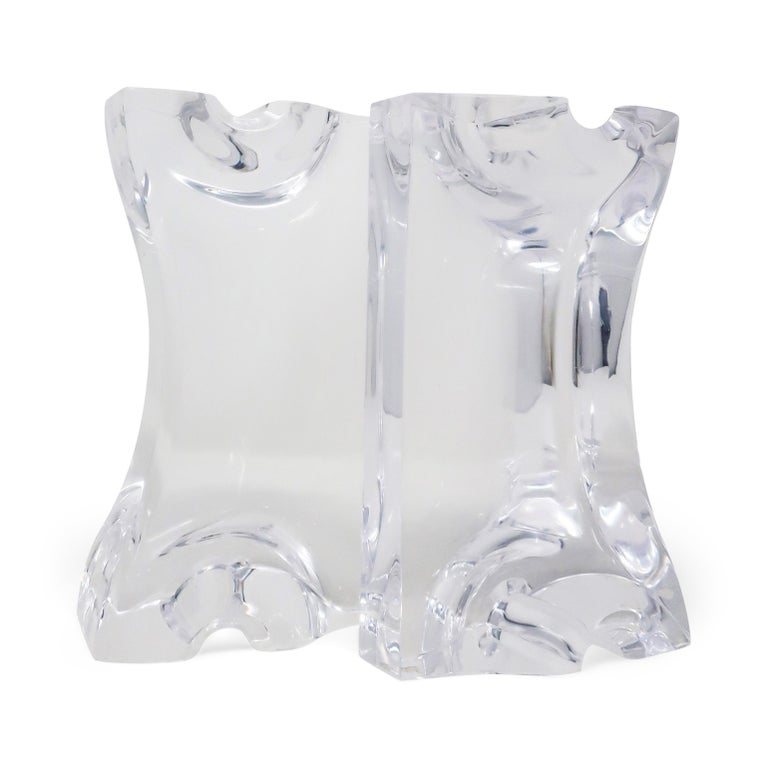 Astrolite Lucite Bookends by Ritts Co. of Los Angeles For Sale 4