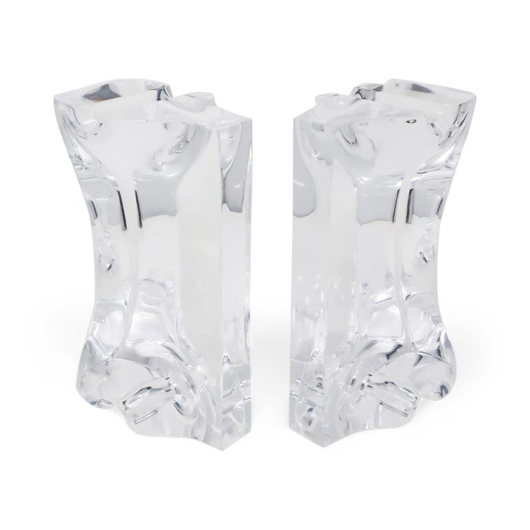 Astrolite Lucite Bookends by Ritts Co. of Los Angeles For Sale 3