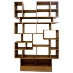 Asymmetric Wooden Shelf