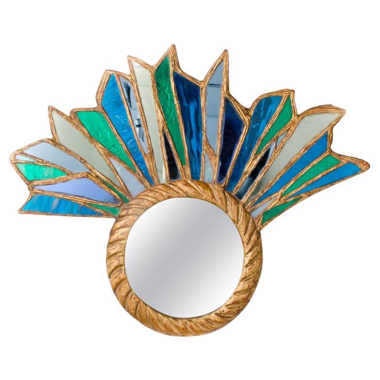 An Asymmetrical Petite Mirror in the Manner of Line Vautrin