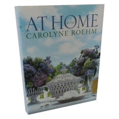 """At Home with Carolyne Roehm"" Coffee Table Book"