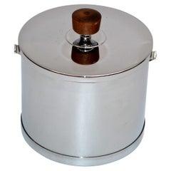 ATAPCO Inox Stainless Steel Scandinavian Modern Ice Cooler Bucket, Denmark 1970