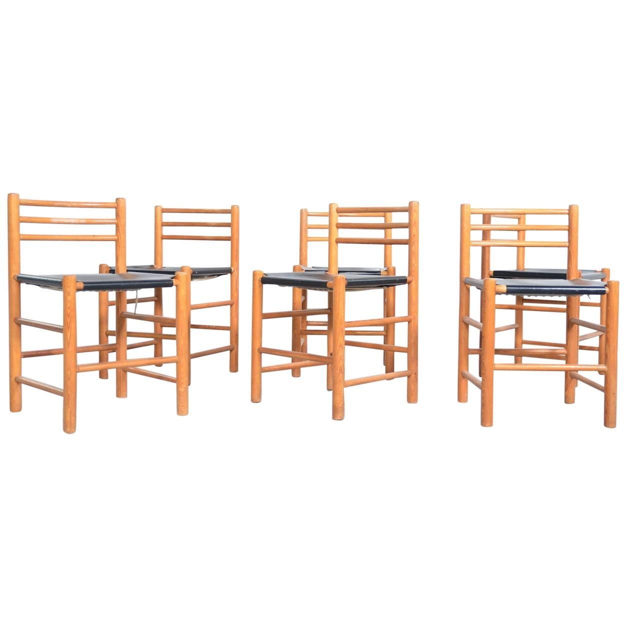 Ate Van Apeldoorn Dining Chairs for Houtwerk Hattem, Netherlands